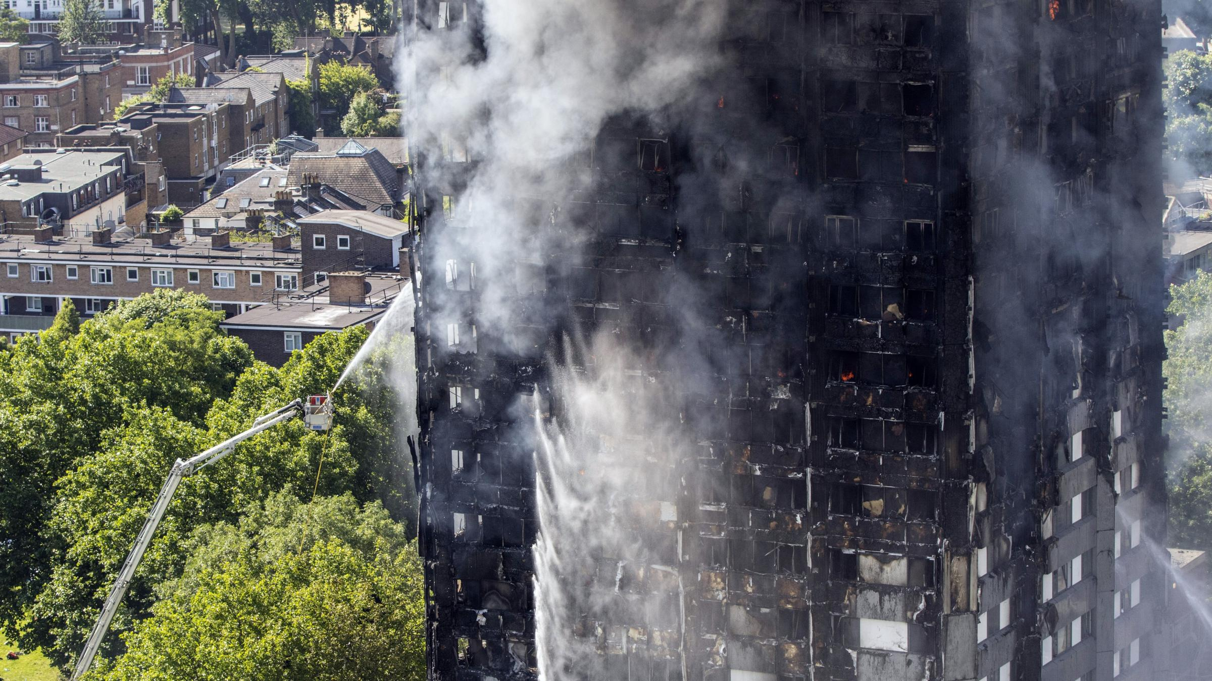 Fatalities reported as fire engulfs London apartment building